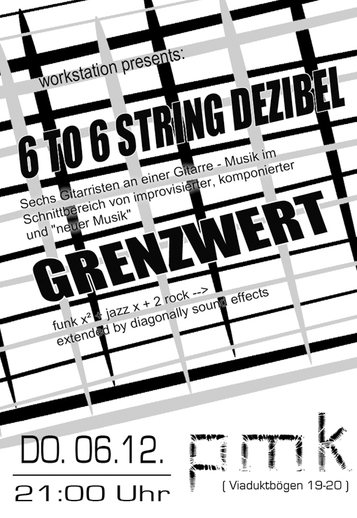 6 to 6 String Dezibel Flyer