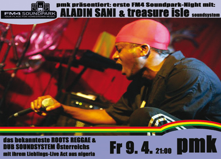 Fm4 Soundparknight 1 feat. Aladin Sani