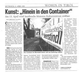 Kurier, 11.04.2001