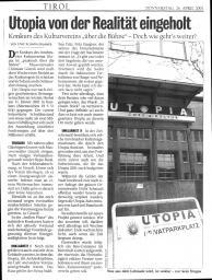Kurier, 26.04.2001