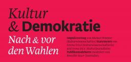 Kultur und Demokratie