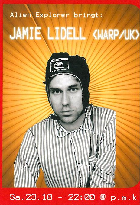 JAMIE LIDELL_23.10.2004