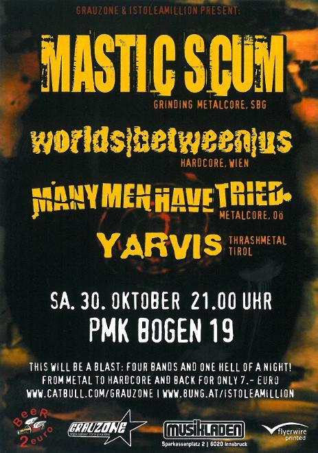 MASTIC SCUM_30.10.2004