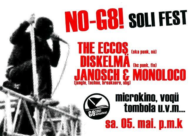 NO-G8! SOLI FETE_05.05.2007