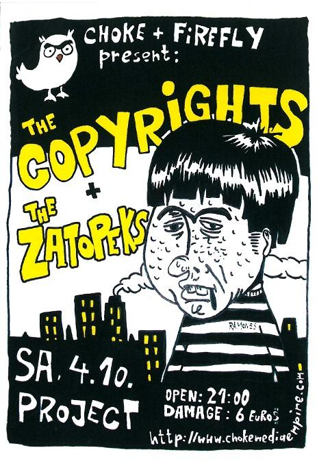 THE COPYRIGHTS 2008_flyer