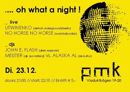 Litwinenko,No Horse No Rider,John E. Flash,Dj Meister,Alaska Al