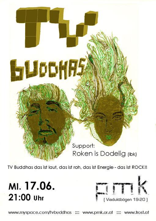 TV BUDDHAS Flyer
