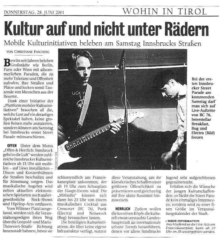 Kurier, 28.06.2001